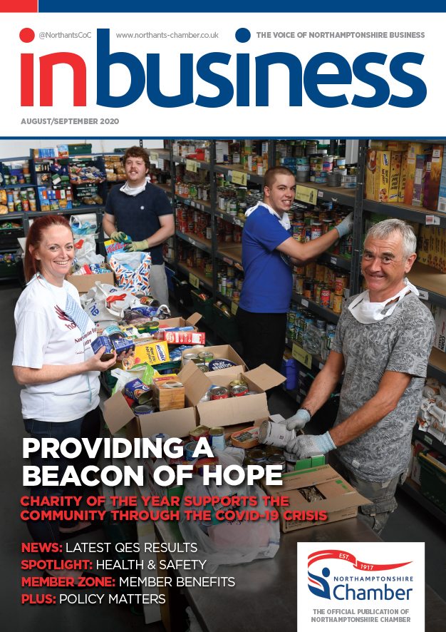 InBusiness Northants August/September 2020