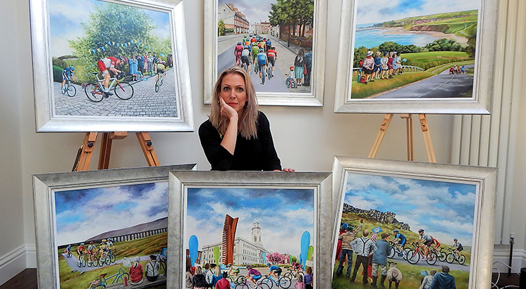 Tour de Yorkshire art is launched