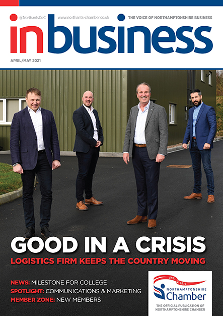 InBusiness Northants April/May 2021
